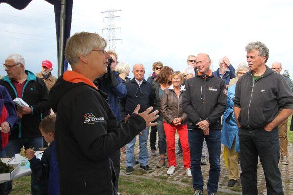 Officiële opening, 2 oktober, openingswoord door gedeputeerde Josan Meijers